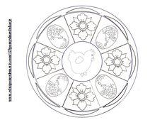 Wielkanocne mandale http://eduzpomyslem.wixsite.com/123pomyslnaedukacje/single-post/2016/03/20/Ale-jaja