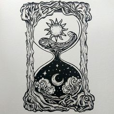 The tides of time. Micron pen on multimedia paper. The tides of time. Micron pen on multimedia paper. Tattoo Drawings, Body Art Tattoos, Dark Art Tattoo, Dark Art Drawings, Henna Designs, Tattoo Designs, Tattoo Ideas, Hourglass Tattoo, Hourglass Drawing