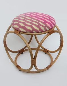 Ikat Dice Stool as part of the first range from MITSEIN. Design and manufacture of ethical handmade furniture and homeware from Vietnam and Cambodia