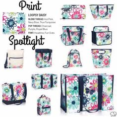 Loopsy Daisy such a great summer print from Thirty One