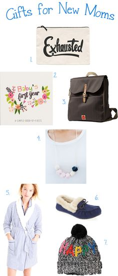 Gifts for New Moms!