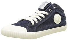 Pepe Jeans London INDUSTRY DENIM, Herren Hohe Sneakers, Blau (000DENIM), 46 EU - http://on-line-kaufen.de/pepe-jeans/46-eu-pepe-jeans-industry-denim-herren-hohe
