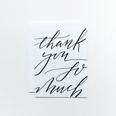 Thank You So Much | Greeting Card