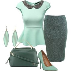 Possible church outfit. I love the colors - something different that I don't have a lot of in my wardrobe already