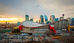 Calgary Flames Saddledome in Calgary