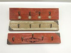 Jewelry Hangers from Pallet Wood / Colgadores Hechos Con Madera De Pallet Home Accessories