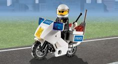 Lego Police Motorbike from Steven, Brona and Ronan Lego Photography, Creative Photography, Law Enforcement Wife, Best Lego Sets, Lego City Police, Cool Lego, Fun Stuff, Motorcycle, Kids