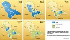 Lake Chad - a disappearing lake