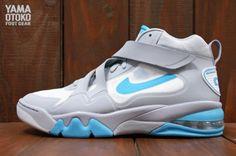 Nike Air Force Max CB 2 HYP   Wolf Grey   White   Gamma Blue