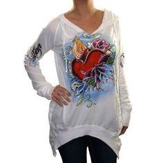 CHRISTIAN AUDIGIER Ed Hardy Sacred Heart Womens Shirt Hoodie Top (Apparel)  http://www.amazon.com/dp/B006OSYHME/?tag=iphonreplacem-20  B006OSYHME