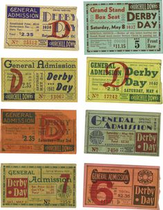 Miscellaneous Collectibles:General, 1934-2005 Kentucky Derby Ticket Stubs Lot of 74. Incrediblycomprehensive compilation of ticket stubs represent every runni... Image #1
