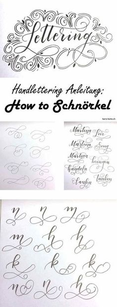 83 best Malen images on Pinterest Hand type, Letters and Penmanship - küche folieren anleitung