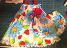 Baby/Toddler Sun Dress Tutorial | The TipToe Fairy