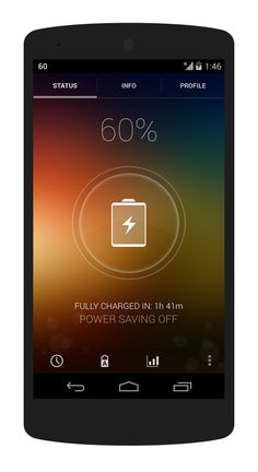 Signa Android UI Design Community — My Battery Saver by Elad