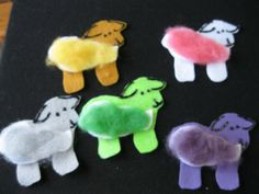 Valley Storytime: Five Little Fluffy Sheep Flannel Board Stories, Felt Board Stories, Felt Stories, Flannel Boards, Little Bo Peep, Five Little, Circle Time Activities, Literacy Activities, Toddler Circle Time