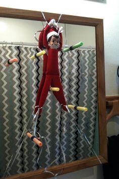 Nerf Gun -Elf on the Shelf