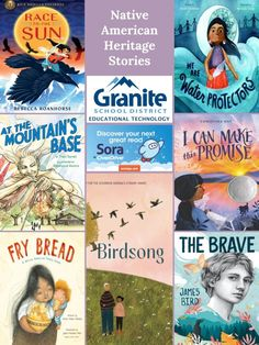 Sora Collection: Native American and Indigenous Stories – Granite Media Native American Heritage Month, Library Posters, Student Numbers, Native American Pictures, Sora, Educational Technology, Book Lists, Granite, Illustrators