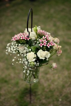 47 best pale pink and cream wedding images on pinterest wedding hanging flowers mightylinksfo