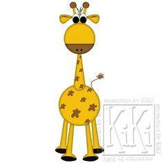 giraffe paper pattern @Jess Liu Shaver