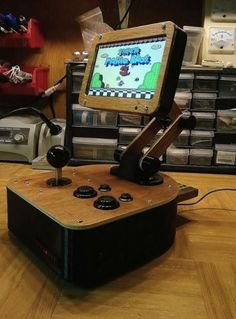 Desktop NES Clone Arcade Machine - The NESPoise via Reddit user knock_blocks