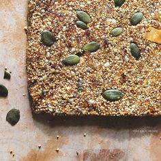 These snack bars are a perfect protein boost after a work out or simply delicious as a sweet treat in a lunch box. Easy to make and packed with goodness. Amaranth is a grain similar to quinoa and is a high-quality plant-based protein source. It does not only boast two essential amino acids, lysine