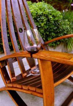 Cool Wine Chair