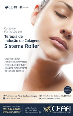 """Arte """"Terapia de Indução de Colágeno: Sistema Roller"""" para o CEAFI"""