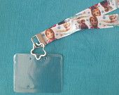 Disney KTTW Card Holder/Lanyard  - Frozen - Elsa and Anna - Non-scratchy - Child or Adult - pinned by pin4etsy.com