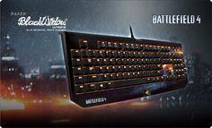 Teclado razer BlackWidow Ultimate Battlefield 4