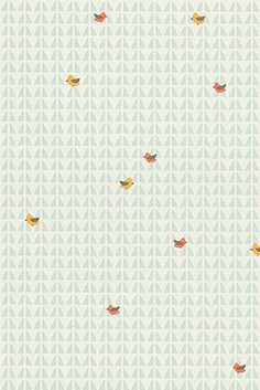 Esprit - Tapeta dziecieca High Sky Birds Patterned