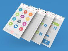 Flat App UI Kit Giveaway
