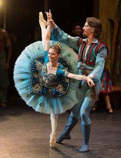 Dancers of the English National Ballet perform 'Le Corsaire' at the Milton Keynes Theatre on October 16, 2013 in Milton Keynes, England. (Ian Gavan)