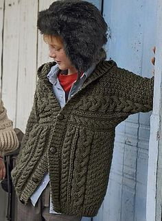 Ravelry: 643 - Hooded Jacket pattern by Bergère de France
