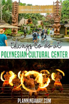 There are so many things to do at the Polynesian Cultural Center. It is a must see when you visit the island of Oahu, Hawaii. This is an immersive experience in Polynesian culture. It was voted by USA Today, Trip Advisor, and Star Advertizer as Hawaii's Best Tourist Attraction in 2019. Not only do you get to learn about the Hawaiian Islands but other Pacific Islands are represented! | Planning Away @planningaway #oahuvacation #oahufamilyvaction #hawaiivacation #planningaway