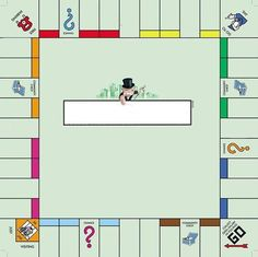 5 Best Images of Printable Monopoly Game Board Template - Blank Monopoly Board Template Printables, Blank Monopoly Board Template and Printable Blank Monopoly Game Board Template Monopoly Classroom, Monopoly Party, Monopoly Theme, Monopoly Money, Monopoly Board, Monopoly Drinking Game, Board Game Template, Printable Board Games, Monopoly Junior