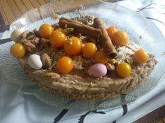 Pääsiäisherkku - keylime pähkinöinen raakakakku (unohda uuni!)