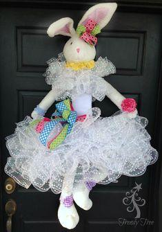 Ballerina Bunny Wreath Tutorial 2016