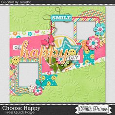 FREE Choose Haoppy Quick Page Freebie ByCT Jerusha from Connie Prince