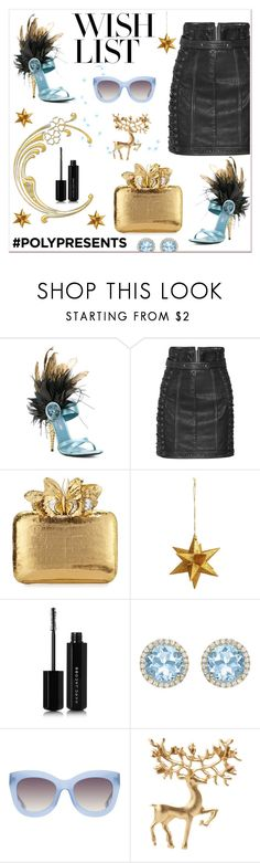 """#PolyPresents: Wish List"" by mariaangeles-g ❤ liked on Polyvore featuring Prada, Balmain, Nancy Gonzalez, Marc Jacobs, Kiki mcdonough, Alice + Olivia, contestentry and polyPresents"