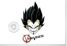 Camiseta Vegeta for Vegeta