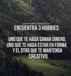 Busca tus tres hobbi
