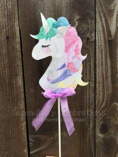 Unicorn Banner, Unicorn Party Decor, Unicorn Birthday Party, Pastel