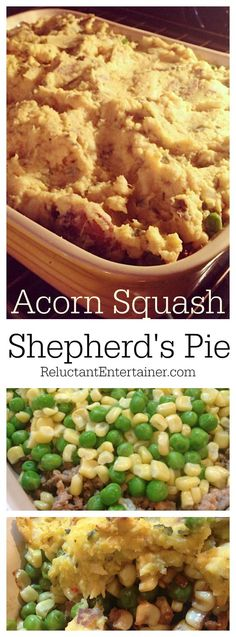 Acorn Squash Shepherd's Pie Recipe
