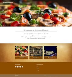 Webdesign Project for a local Restaurant - Full view Web Design, Social Media, Restaurant, Projects, Web Design Projects, Search Engine Optimization, Food Menu, Twist Restaurant, Diner Restaurant