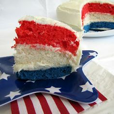 My Friends Are Good Cooks: Patriotic Cakes (photos & links)