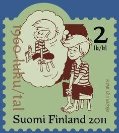 . Time Travel, Postage Stamps, Memes, Illustration, Paintings, Finland, Illustrations, Stamps, Meme