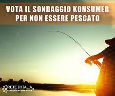 Perché farsi pescare? Partecipa al sondaggio di Konsumer sulle #polizzeocculte www.konsumer.it
