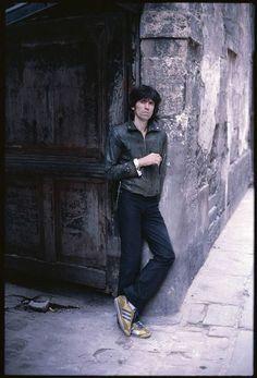 Keith Richards in Paris, 1978