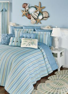 7 Beach Themed Bedrooms to Take You Away Beach Inspired Bedroom, Seaside Bedroom, Fancy Bedroom, Beach Bedrooms, Bedroom Themes, Bedroom Decor, Bedroom Storage, Bedroom Ideas, Cheap Furniture