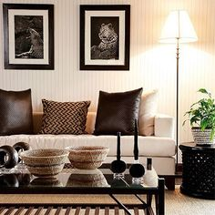 Afrocentric Interior Design, Afrocentric Style Decor - Design centered on African Influenced Elements, Home Design, Home Decoration African Themed Living Room, African Living Rooms, African Interior Design, Decor Interior Design, Interior Decorating, Decorating Ideas, African Design, Interior Ideas, Interior Inspiration